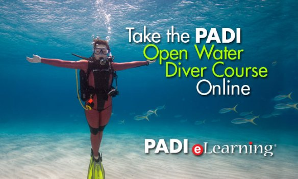 PADI eLearning banner photo