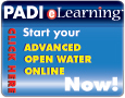 PADI eLearning banner photo Advanced Open Water