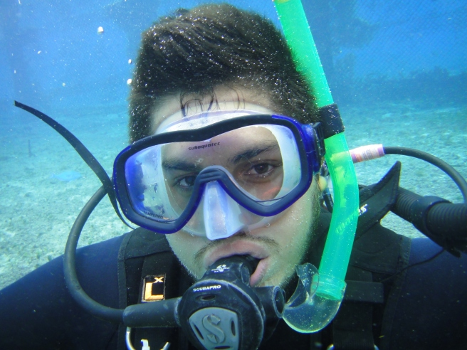 open water student!