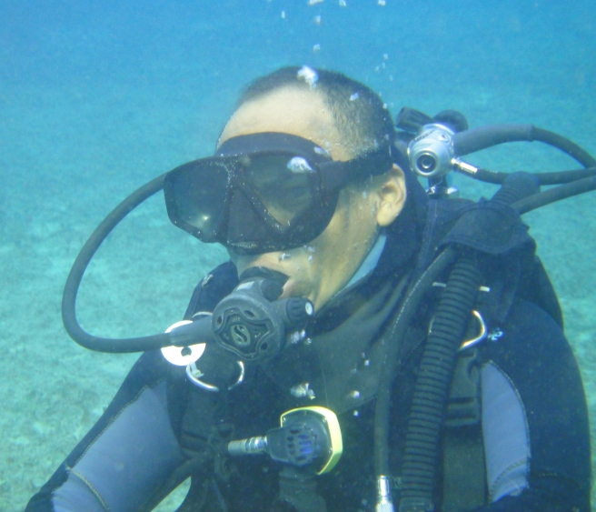 blue angel scuba school assistant instructor candidate