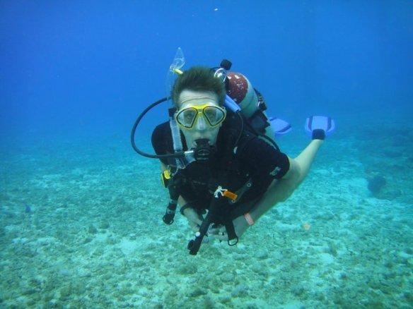 Master Scuba Diver, Brian Wright!